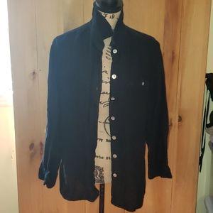 Chico's Linen Button Down Shirt